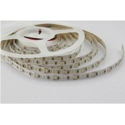Bandeau de Led SMD3014 24V Blanc chaud 60 Led/métres 7,2 Watt/métres Longueur:5m