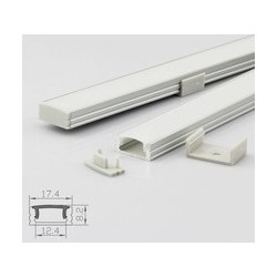 Profil aluminium A1707 IP20 10mm