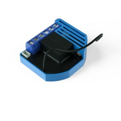 """Qubino """"Flush 2 Relays"""" ZMNHBD1 - Micromodule 2 relais (ON/OFF) Z‑Wave Plus avec mesure de consommation"""