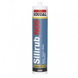 Mastic silicone silirub n°5 300 ml anthracite ral 7016