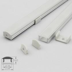 Profil aluminium B1707 IP20 10mm