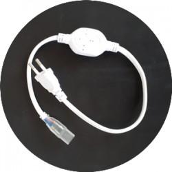 Interface de connection avec prise AC PLUG SMD2835 220V IP54
