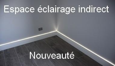 Espace éclairage indirect